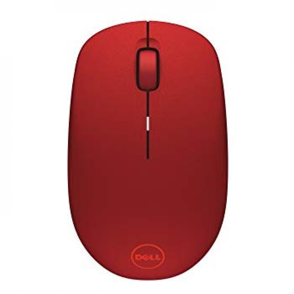 DELL MOUSE OPTICAL WIRELESS WM126 RED